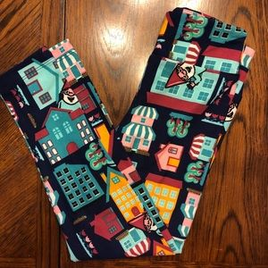 LuLaRoe Girls Leggings S/M